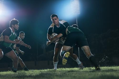 shoulder support for rugby